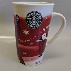 Starbucks 2010 Stories Are Gifts Winter Mug 16 Oz